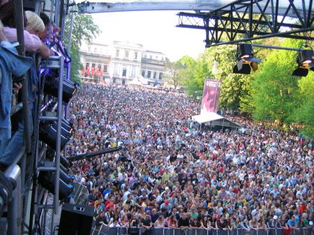 Bevrijdingspop: het publiek (foto Moussa Aynan)