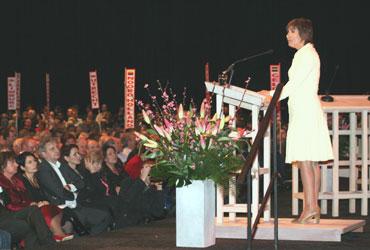 Voorzitter Lilianne Ploumen op Congres