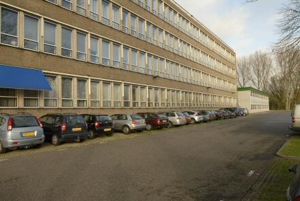 Het bestaande provinciekantoor aan de Zijlweg