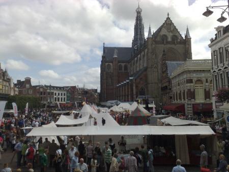 Het Jopen Festival op de Grote Markt