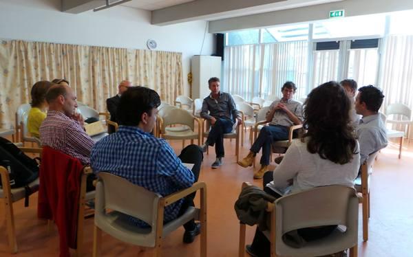 Eén van de workshops tijdens de Ideeënfabriek